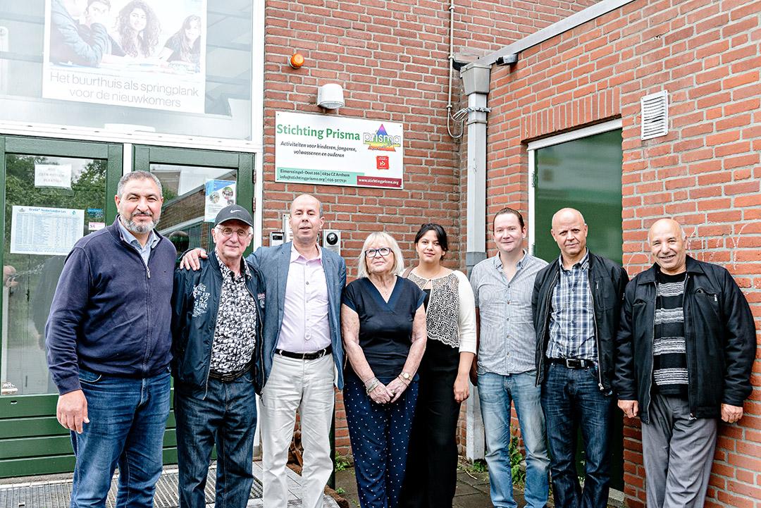 Gehele bestuur Stichting Prisma